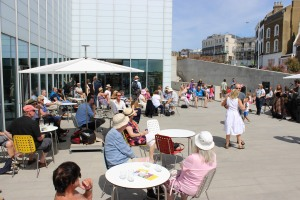 Image Jazz on the terrace of Turner Contemporary
